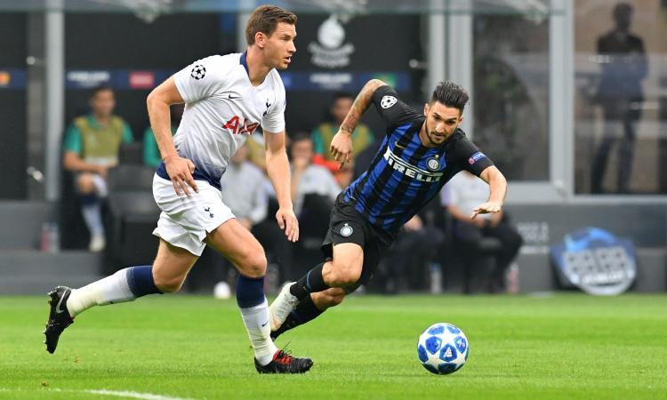 Tottenham: Vertonghen salta l'Inter