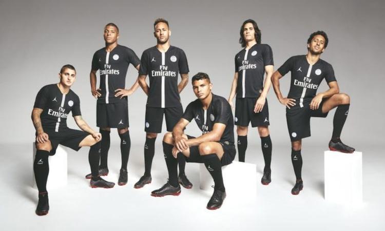 Il PSG lancia la collaborazione con Jordan, ecco le maglie per la Champions