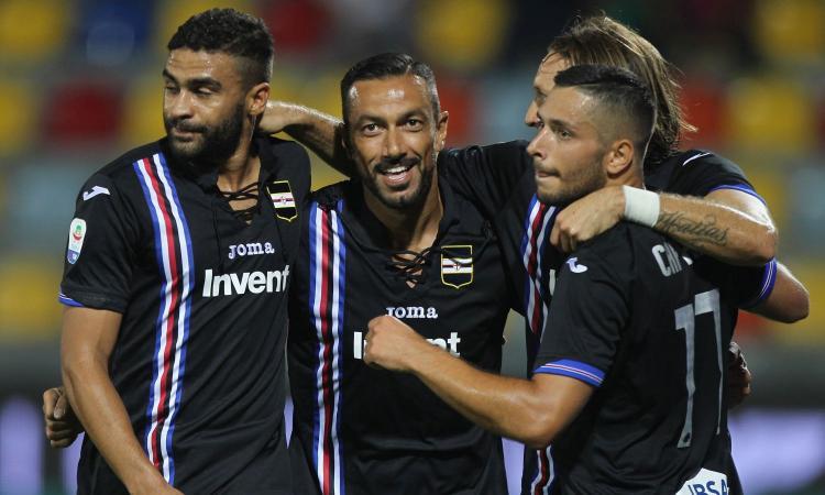 Passeggiata in Ciociaria per la Sampdoria: vinto il mal di trasferta