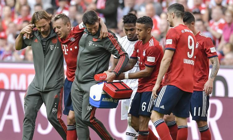 Bayern, UFFICIALE: Rafinha e Tolisso lunghi stop. Furia Hoeness su Bellarabi