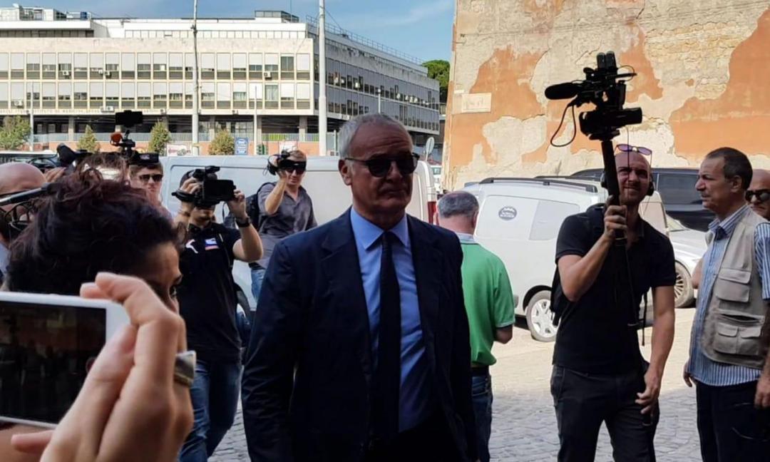 Claudio Ranieri alla finestra