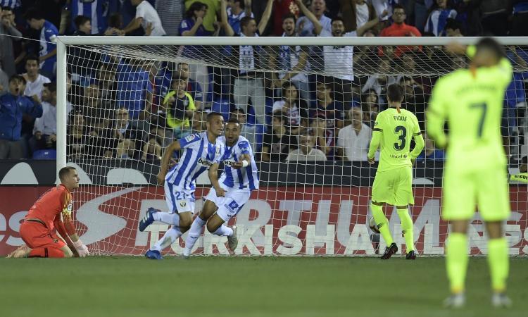 Liga: il Leganes riprende il Getafe, è 1-1