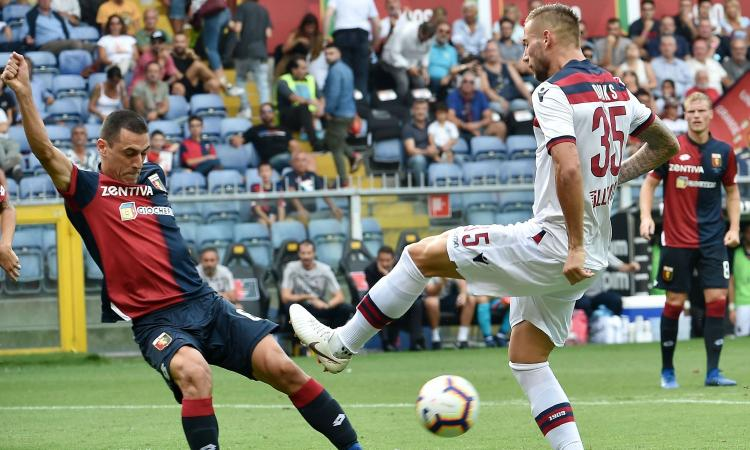 Lazio, in estate Romulo tornerà al Genoa