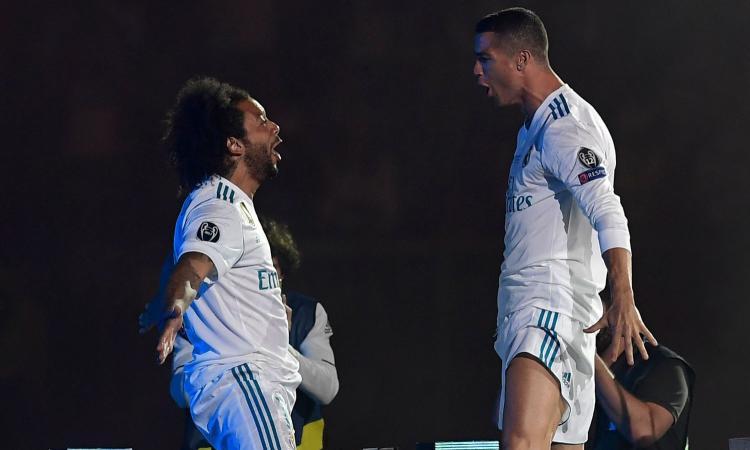 Juve, senti la moglie di Marcelo: 'L'addio di Ronaldo ci è dispiaciuto, stavamo sempre insieme' VIDEO