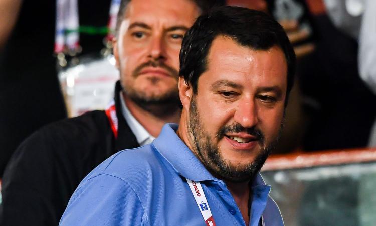 Salvini: 'Celle negli stadi e meno partite in notturna. Supercoppa in Arabia? Non guardo una gara tra veli e burqa'