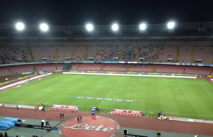 Napoli-Fiorentina: San Paolo semideserto, Digos allertata per possibili contestazioni dei tifosi al presidente De Laurentiis