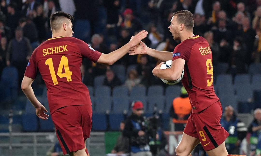 Il dopo-Dzeko per la Roma? Voto Schick