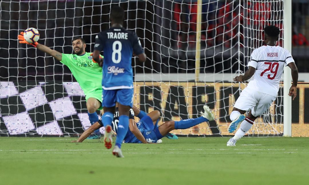 Empoli-Milan, le pagelle dei rossoneri