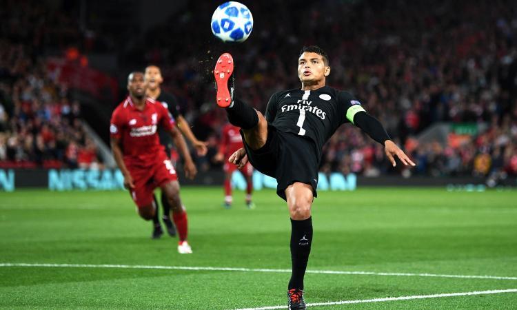 Psg, Thiago Silva vuole lasciare il club
