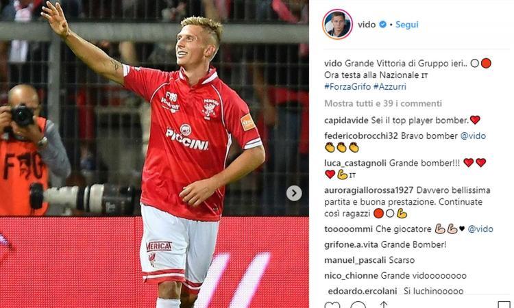 Verona-Perugia, le formazioni ufficiali: Matos con Di Carmine, Vido con Sadiq