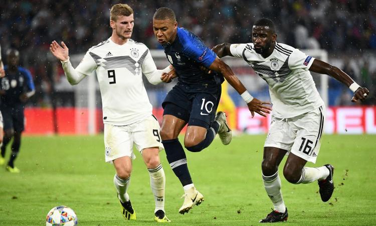 Mbappé a intermittenza, Areola è insuperabile: Germania-Francia 0-0