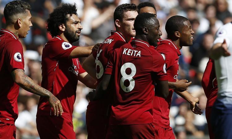 Il Tottenham cade in casa col Liverpool: 1-2 prima dell'Inter