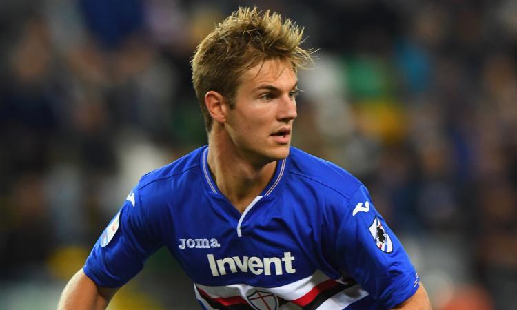 Sampdoria, incontro per Andersen con il Tottenham: Inter e Juve avvisate