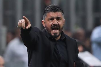 Gattuso arrabbiato Milan