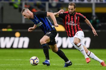 Higuain Milan Skriniar Inter
