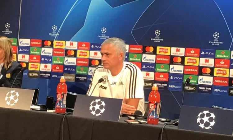Mourinho: 'Non penso al Real. Pogba? Ronaldo? Non mi piace questa conferenza. Juve favorita in Europa' VIDEO