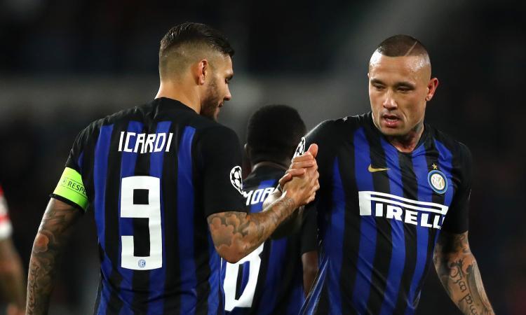 Inter: Nainggolan rinuncia al giorno libero, Icardi neanche per sogno