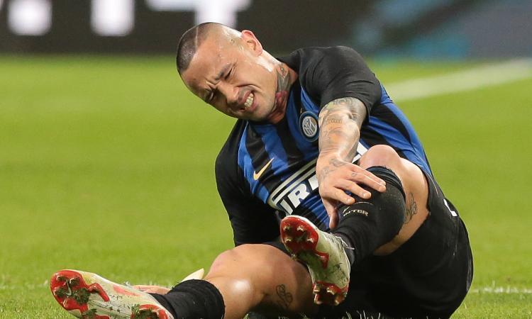 Inter, Nainggolan fuori per una distorsione alla caviglia: salta il Barcellona
