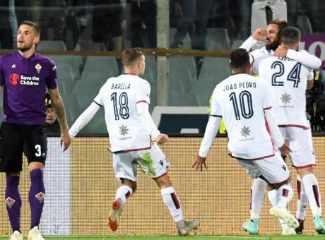 A Chiesa figlio risponde Pavoletti padre: Fiorentina, stop beffardo