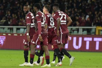 Torino esultanza gruppo