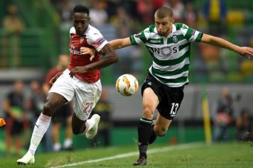 Welbeck Arsenal Ristovski Sporting Lisbona