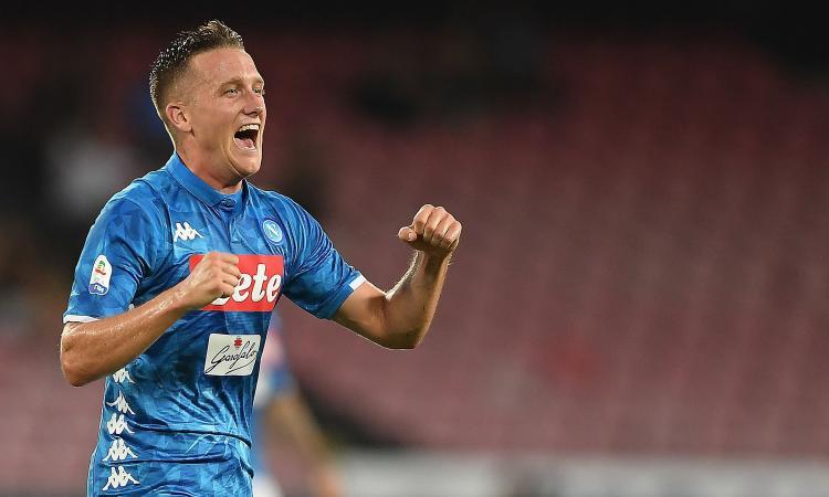 Napoli: un club insiste per Zielinski