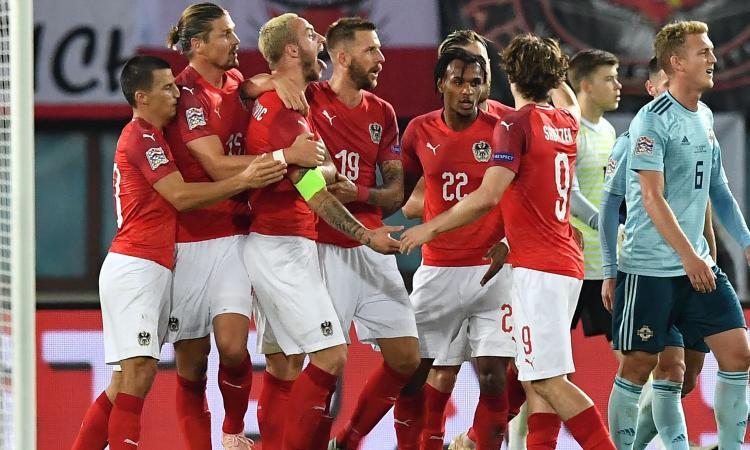 Nations League: vincono Grecia e Austria, tutti i risultati