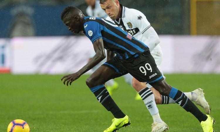 Atalanta-Parma: incontro per Barrow