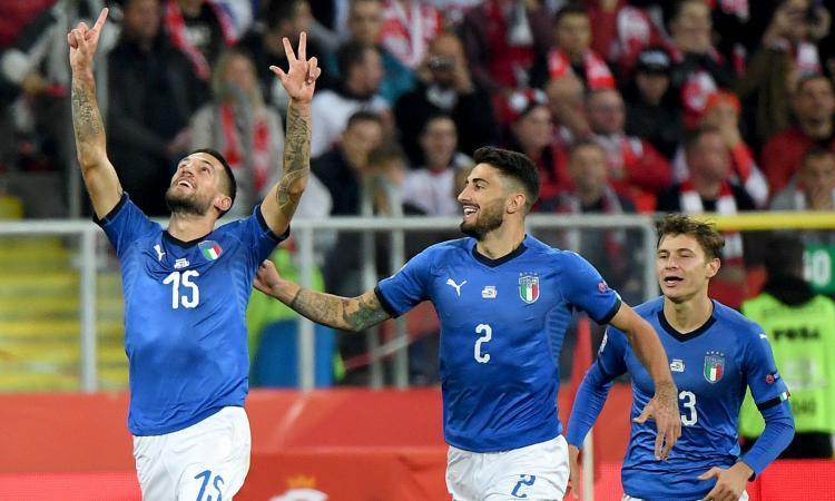 Italia-Armenia, le formazioni ufficiali: Bonucci ritrova Karapetyan dopo il rosso, c'è Biraghi