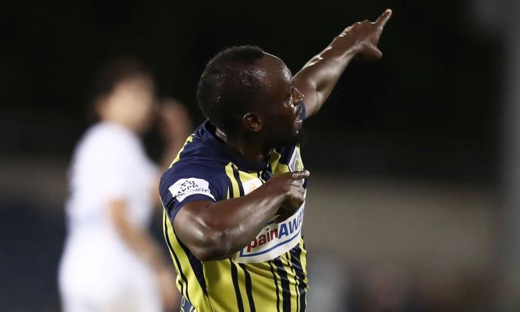 Bolt è nella storia: guarda i suoi primi gol in Australia VIDEO