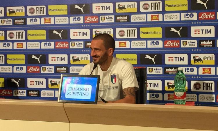 Bonucci: 'Con Ventura un gioco al massacro. Nel derby tifo Milan, Barella e Bernardeschi mi impressionano'