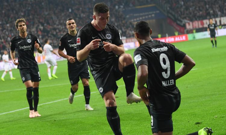Inter, c'è l'Eintracht Francoforte: i gol di Jovic per continuare il sogno europeo