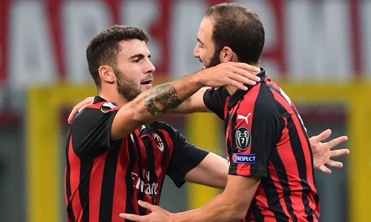 Convocati Milan: torna Higuain, Cutrone e Calhanoglu ok per la Juve