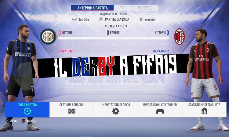Inter-Milan: Higuain e Icardi senza gol, ecco com'è finito il derby a Fifa 19