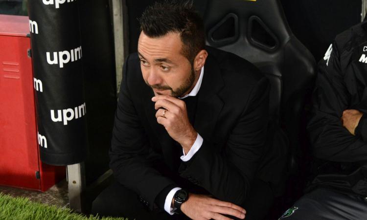 Sassuolo, De Zerbi: 'Babacar può fare 20 gol a campionato, farò di tutto per aiutarlo'
