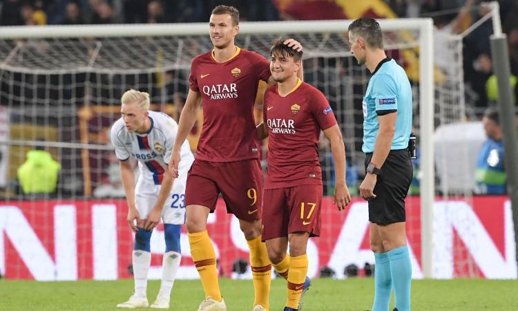 L'Europa trasforma Dzeko: la Roma sembra il Barcellona, Napoli sfida verità