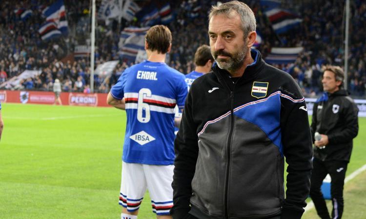 Sampdoria, Giampaolo: 'Con Jankto mi scontro, ma sta cambiando. Sulla Roma...'