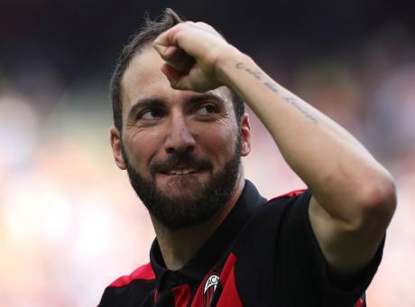 Ecco Cristiano Higuain: il Milan mette la terza, nonostante il solito gol subito