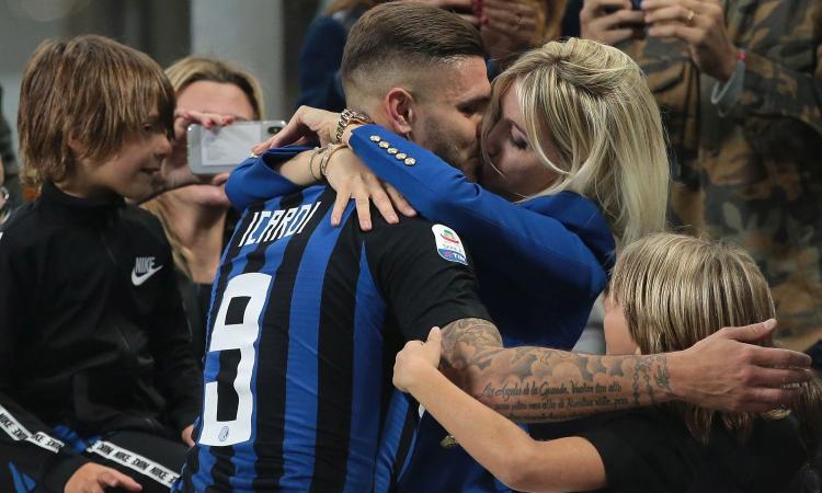 Inter, senti come canta Wanda: 'Nerazzurri nel cuore!' VIDEO