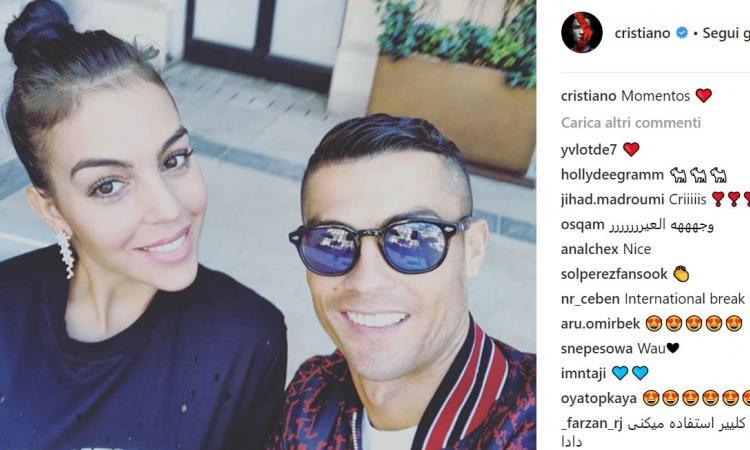 Sushi, Milano e... Georgina: la domenica di Ronaldo