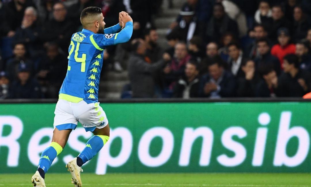 Champions: grande Napoli, impresa sfiorata a Parigi
