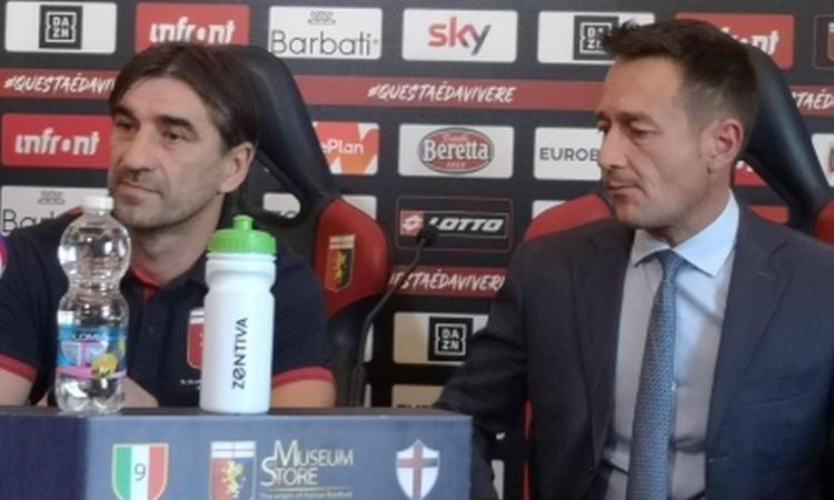 Genoa, Juric si ripresenta: 'Sono sereno, non mi aspettavo di tornare'