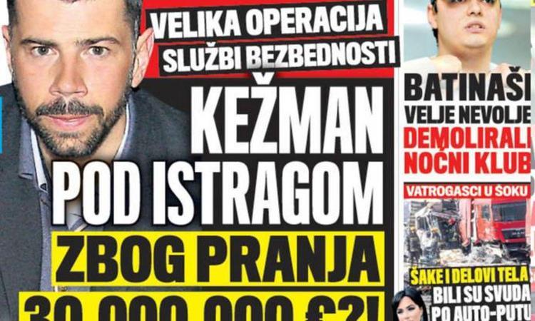 Calciopoli belga, ombre su Kezman: nel mirino l'affare Milinkovic-Savic
