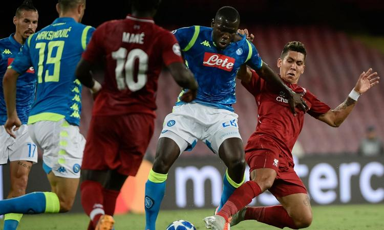 Napoli, Koulibaly: 'Gol del Liverpool evitabile, ora testa all'Europa League' VIDEO