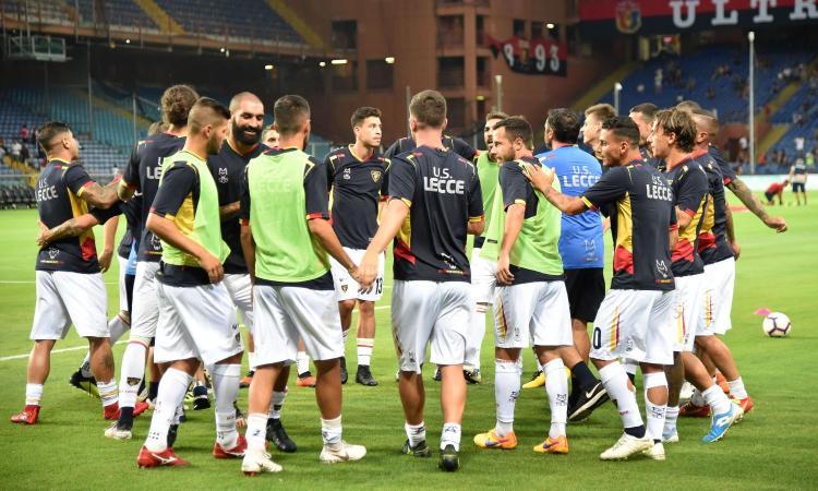Serie B, il Lecce risponde al Venezia: 1-1
