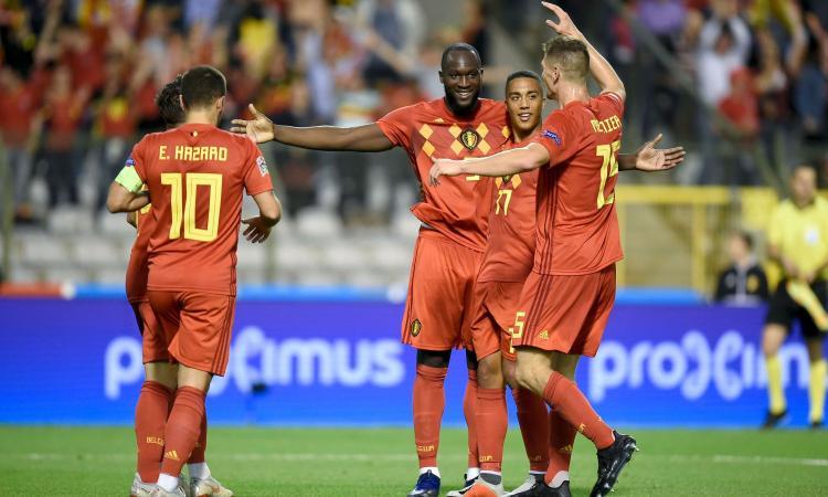 Belgio, doppio Lukaku e Svizzera ko: 2-1