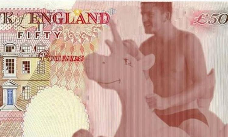 Chi volete sulla banconota da 50 sterline? 'Maguire su un unicorno'