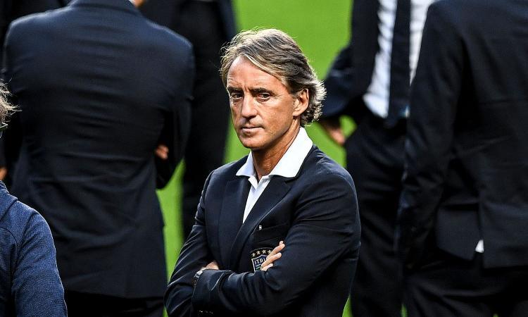 Mancini: 'Italia, non bastano 5 partite. Retrocessione? Niente drammi'