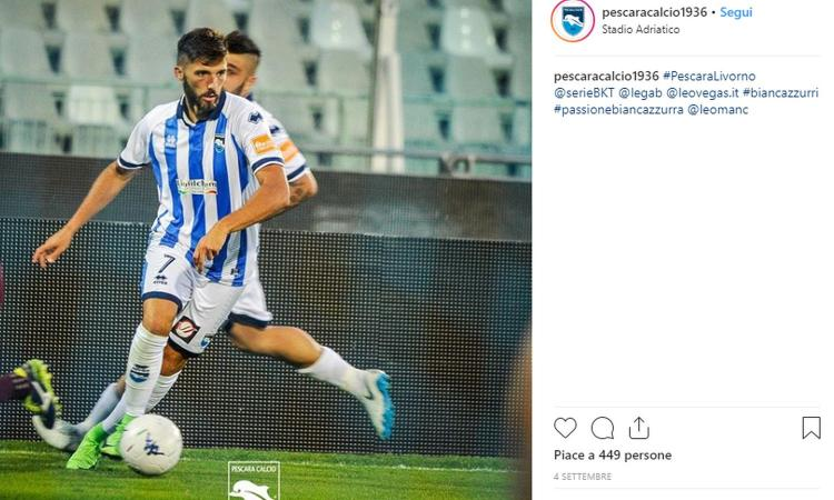 Le telefonate della Juve e l'eredità di Lapadula: Mancuso vola col Pescara