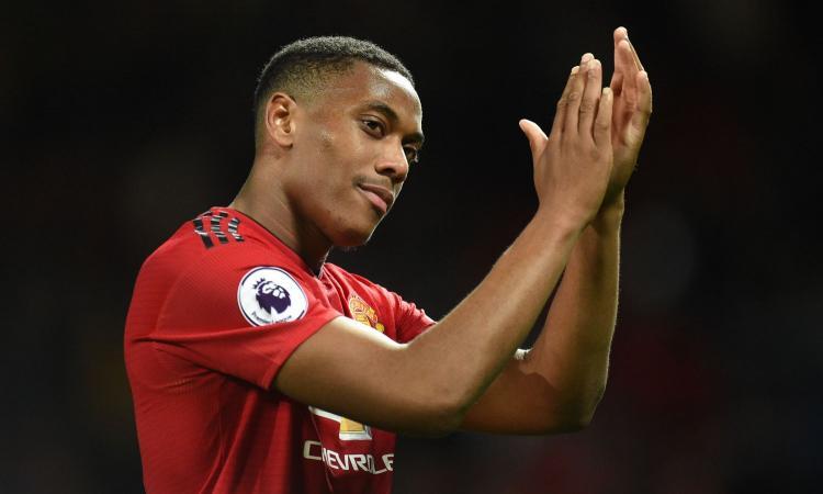 Manchester United, Martial confermato